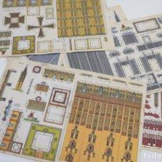 Coleccionismo Recortables: LOTE RECORTABLES CON BEL - CONSTRUCCIONES - RECORTABLE - VER FOTOS. Lote 187442208