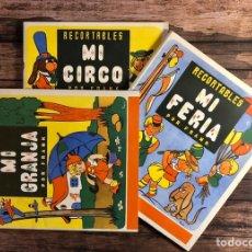 Coleccionismo Recortables: RECORTABLES POR FRANK, ¡COMPLETA!.. Lote 191263748