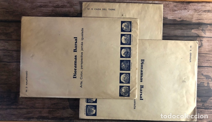 Coleccionismo Recortables: Dioramas barsal. - Foto 2 - 191363080