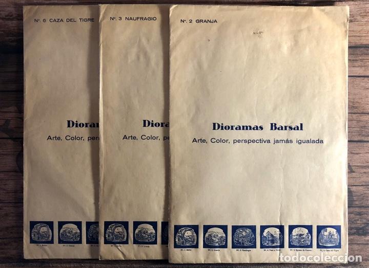 DIORAMAS BARSAL. (Coleccionismo - Recortables - Construcciones)