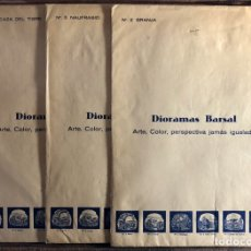 Coleccionismo Recortables: DIORAMAS BARSAL.. Lote 191363080