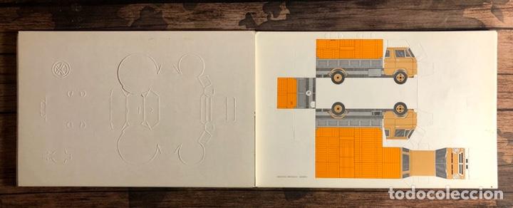 Coleccionismo Recortables: Construye tu propio vehículo sin tijeras sin pegamento. - Foto 4 - 191525752