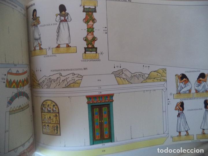 Coleccionismo Recortables: RECORTABLE TOUTANKHAMON.TUMBAS,RITOS,FUNERALES MAQUETA 20X41X27 - Foto 3 - 191878286