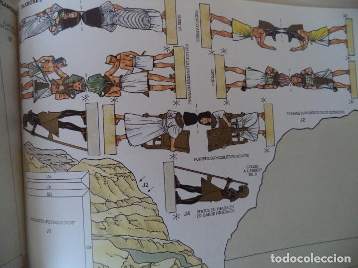 Coleccionismo Recortables: RECORTABLE TOUTANKHAMON.TUMBAS,RITOS,FUNERALES MAQUETA 20X41X27 - Foto 4 - 191878286
