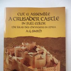 Coleccionismo Recortables: RECORTABLE THE KRAK DES CHEVALIERS IN SYRIA . Lote 191885970
