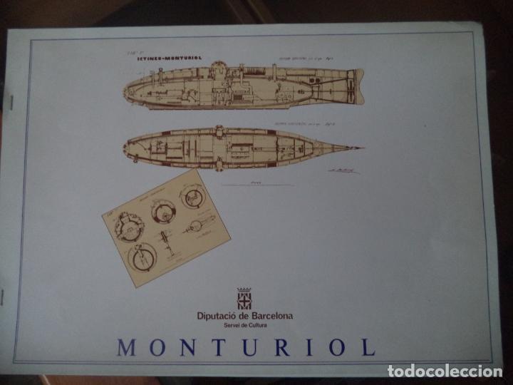 RECORTABLE MONTURIOL DIPUTACION BARCELONA (Coleccionismo - Recortables - Construcciones)