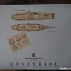 Coleccionismo Recortables: RECORTABLE MONTURIOL DIPUTACION BARCELONA. Lote 191889721