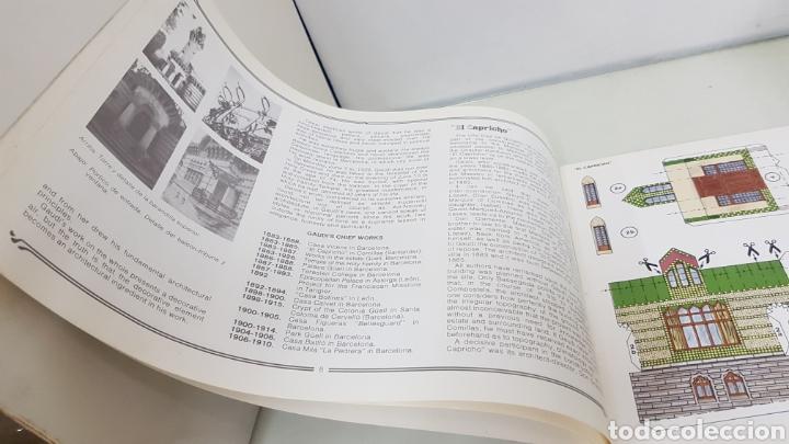Coleccionismo Recortables: Gaudi EL CAPRICHO Comillas cantabria recortable medida libro 31x21,5cms - Foto 3 - 192796055