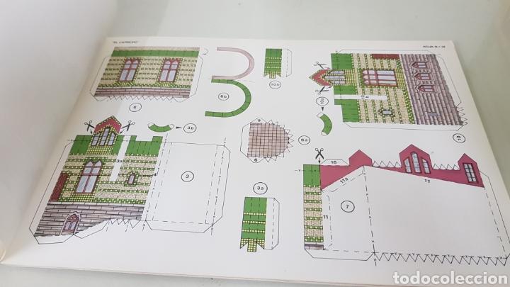 Coleccionismo Recortables: Gaudi EL CAPRICHO Comillas cantabria recortable medida libro 31x21,5cms - Foto 5 - 192796055