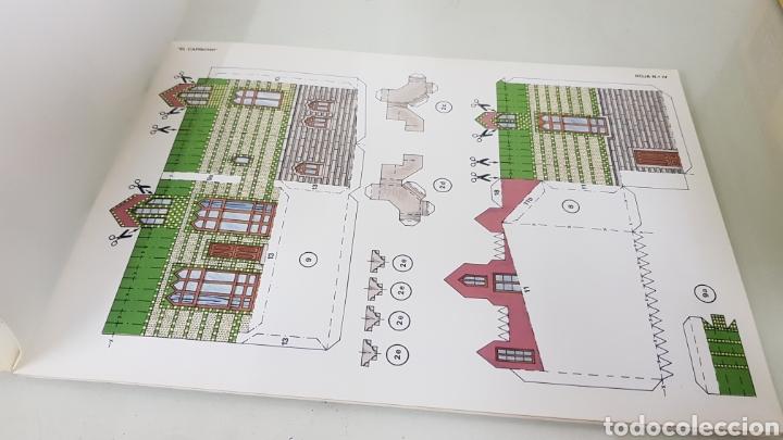 Coleccionismo Recortables: Gaudi EL CAPRICHO Comillas cantabria recortable medida libro 31x21,5cms - Foto 6 - 192796055