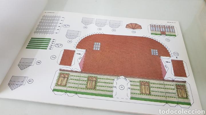 Coleccionismo Recortables: Gaudi EL CAPRICHO Comillas cantabria recortable medida libro 31x21,5cms - Foto 7 - 192796055