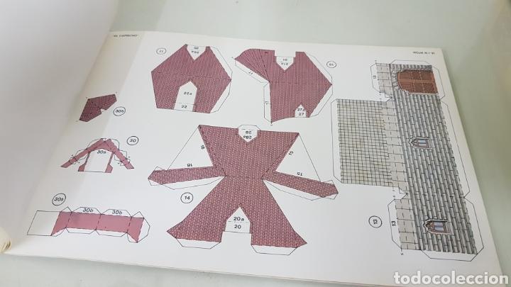 Coleccionismo Recortables: Gaudi EL CAPRICHO Comillas cantabria recortable medida libro 31x21,5cms - Foto 8 - 192796055