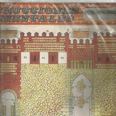 Coleccionismo Recortables: CONSTRUCCIONES MONUMENTALES BOGA PUERTA DEL SOL TOLEDO. Lote 193398055