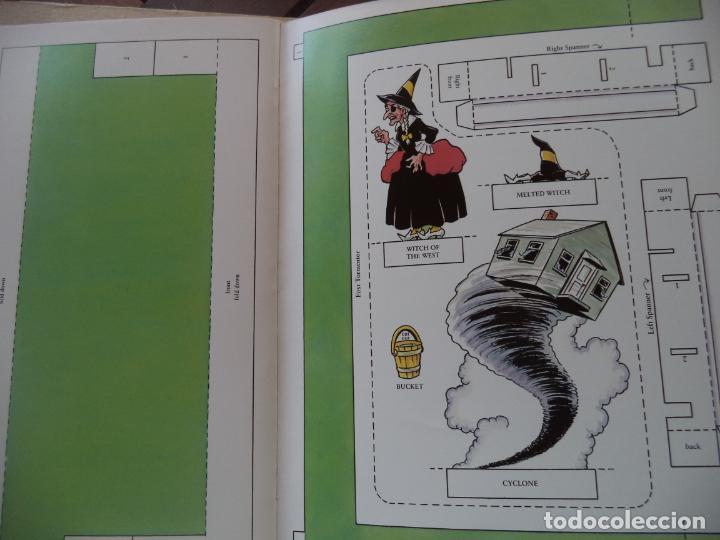 Coleccionismo Recortables: RECORTABLE TOY THEATER THE WIZAED OF OZ CUADERNILLO DE 16 HOJAS PARA CONSTRUIR UN PRECIOSO TEATRILLO - Foto 3 - 194069237
