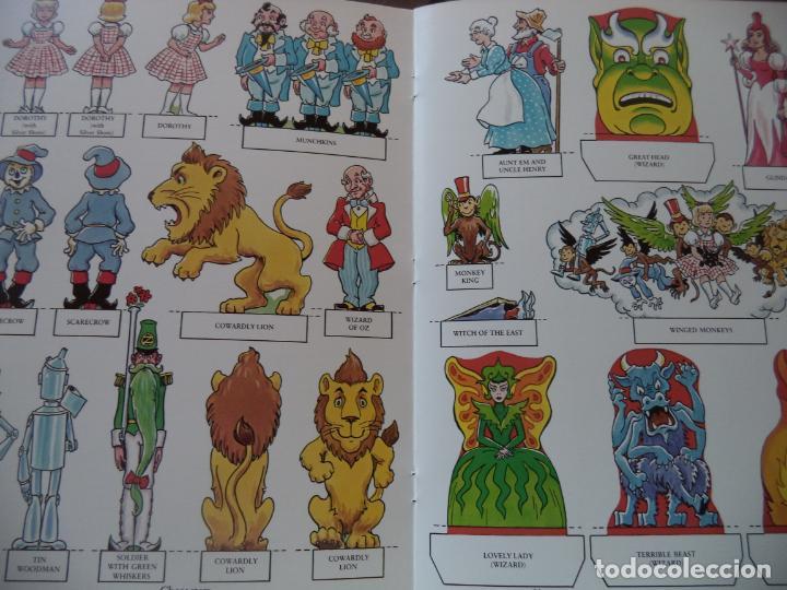 Coleccionismo Recortables: RECORTABLE TOY THEATER THE WIZAED OF OZ CUADERNILLO DE 16 HOJAS PARA CONSTRUIR UN PRECIOSO TEATRILLO - Foto 5 - 194069237