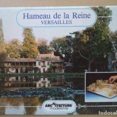 Coleccionismo Recortables: RECORTALES HAMEAU DE LA REINE VERSAILLES .MAQUETA DE 31X44X14 CM 12 HOJAS DE 31X22 CM. Lote 194073208