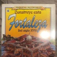Coleccionismo Recortables: SUSAETA AÑOS 90 CONSTRUYE ESTA FORTALEZA NUEVA . Lote 194133026