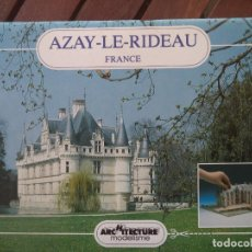 Coleccionismo Recortables: RECORTABLE AZAY-LE-RIDEAU MAQUETA DE 26X31X 12 CM ALTURA. Lote 194401245
