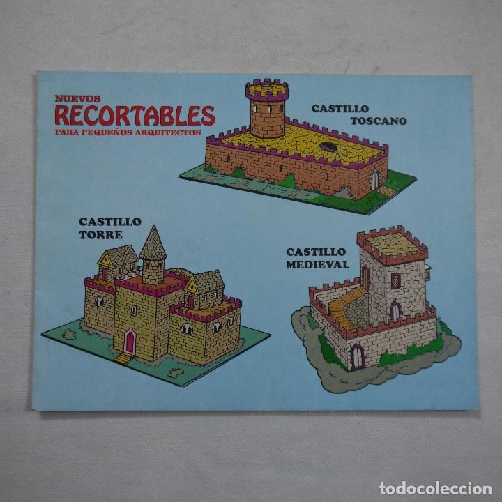 NUEVOS RECORTABLES PARA PEQUEÑOS ARQUITECTOS N.º 1 - VILMAR (Coleccionismo - Recortables - Construcciones)
