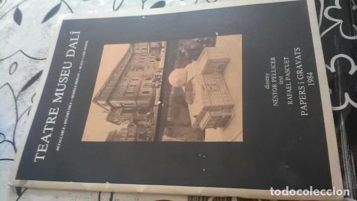 TEATRE MUSEU DALÍ, TEATRO MUSEO DALÍ (Coleccionismo - Recortables - Construcciones)
