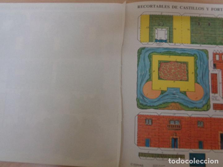Coleccionismo Recortables: Construcciones recortables Edivas. Castillos. Buen estado - Foto 4 - 195227527