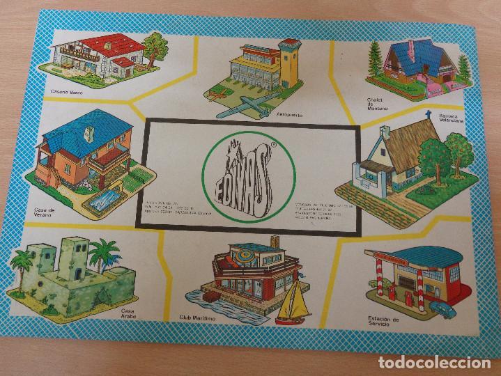 Coleccionismo Recortables: Construcciones recortables Edivas. Casas. 8 láminas. Muy buen estado - Foto 2 - 195227658