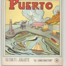 Coleccionismo Recortables: PUERTO RECORTE - JUGUETE Nº 4 EDITORIAL ROMA. Lote 197462607