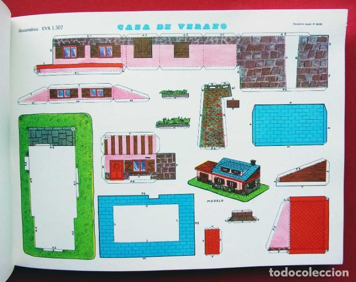 Coleccionismo Recortables: CONSTRUCCIONES RECORTABLES CASAS . EVA. 50 LÁMINAS SURTIDAS. AÑO: 1965. ED. VASCO AMERICANA. - Foto 5 - 199152598
