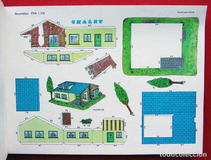 Coleccionismo Recortables: CONSTRUCCIONES RECORTABLES CASAS . EVA. 50 LÁMINAS SURTIDAS. AÑO: 1965. ED. VASCO AMERICANA. - Foto 8 - 199152598