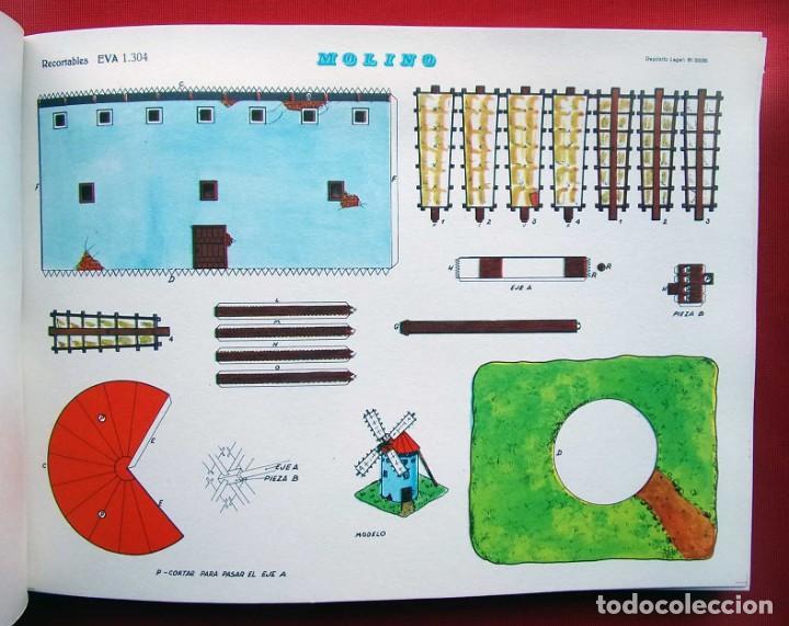 Coleccionismo Recortables: CONSTRUCCIONES RECORTABLES CASAS . EVA. 50 LÁMINAS SURTIDAS. AÑO: 1965. ED. VASCO AMERICANA. - Foto 10 - 199152598