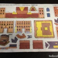 Coleccionismo Recortables: RECORTABLES DE CASTILLOS Y FORTALEZAS EDIVAS Nº 9 - (REF. 69). Lote 199264650