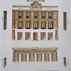 Coleccionismo Recortables: RECORTABLE EDIFICIO MUSEO DE BELLAS ARTES. LA CORUÑA. Lote 199980400