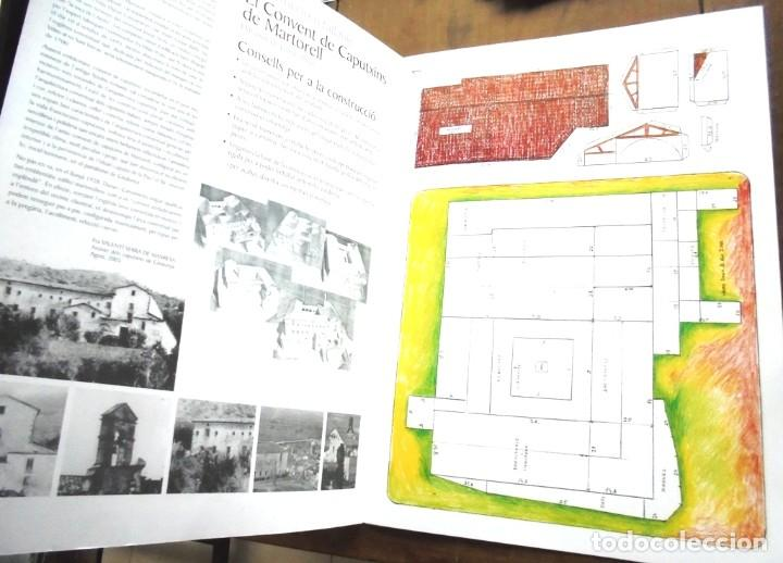 Coleccionismo Recortables: Construcció retallable El Convent de Caputxins de Martorell dibuixos Jaume Amat 2005 recortable - Foto 2 - 201757863