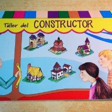 Coleccionismo Recortables: TALLER DE CONSTRUCTOR LAMINAS. Lote 202372887