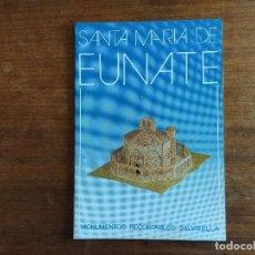 Coleccionismo Recortables: SANTA MARIA DE EUNATE MONUMENTOS RECORTABLES SALVATELLA. Lote 203330602