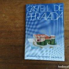 Coleccionismo Recortables: CASTILLO DE PERELADA MONUMENTOS RECORTABLES SALVATELLA. Lote 203372808