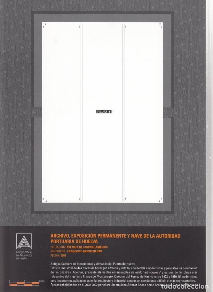 Coleccionismo Recortables: RECORTABLE. ARCHIVO, EXPOSICIÓN PERMANENTE Y NAVE DE LA AUTORIDAD PORTUARIA DE HUELVA. 2007 - Foto 2 - 203991061