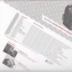 Coleccionismo Recortables: RECORTABLE. COLEGIO OFICIAL DE ARQUITECTOS DE HUELVA. 2007. 1 DE OCT. DÍA MUNDIAL DE LA ARQUITECTURA. Lote 203991372