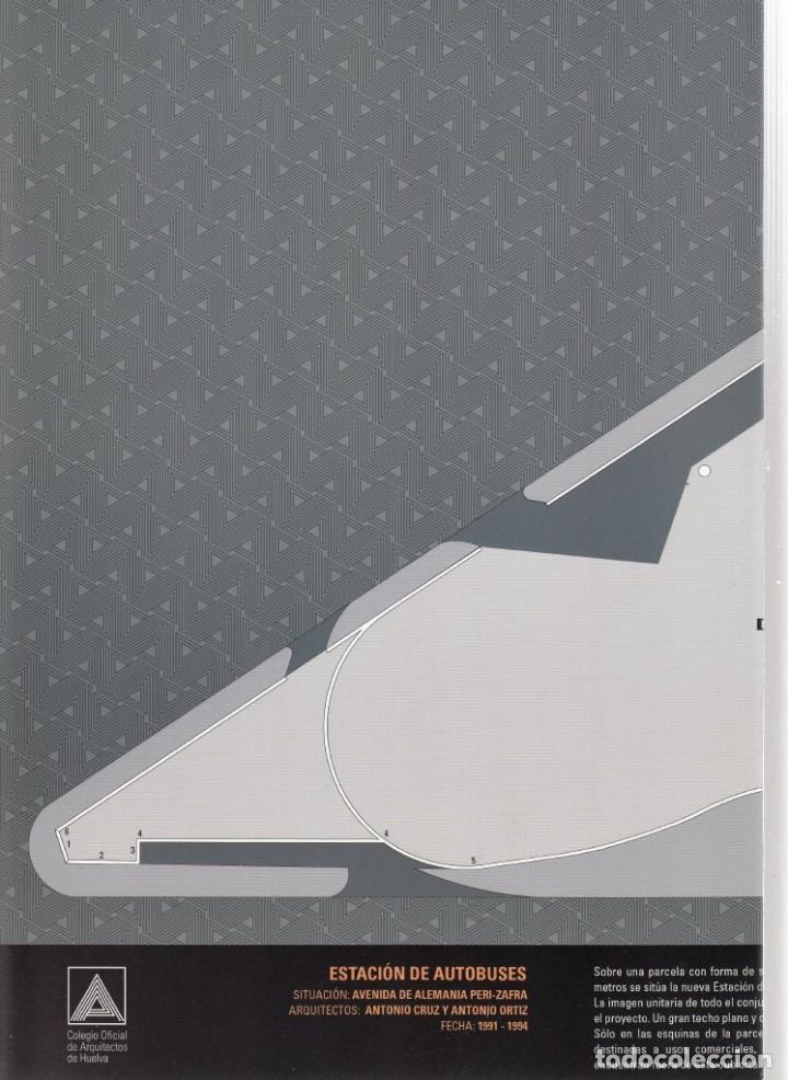 Coleccionismo Recortables: RECORTABLE. ESTACIÓN DE AUTOBUSES DE HUELVA. 2007. 1 DE OCTUBRE DÍA MUNDIAL DE LA ARQUITECTURA - Foto 3 - 203991633