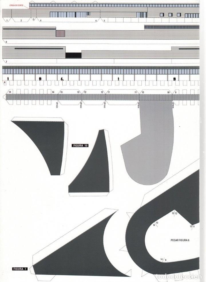 Coleccionismo Recortables: RECORTABLE. ESTACIÓN DE AUTOBUSES DE HUELVA. 2007. 1 DE OCTUBRE DÍA MUNDIAL DE LA ARQUITECTURA - Foto 5 - 203991633