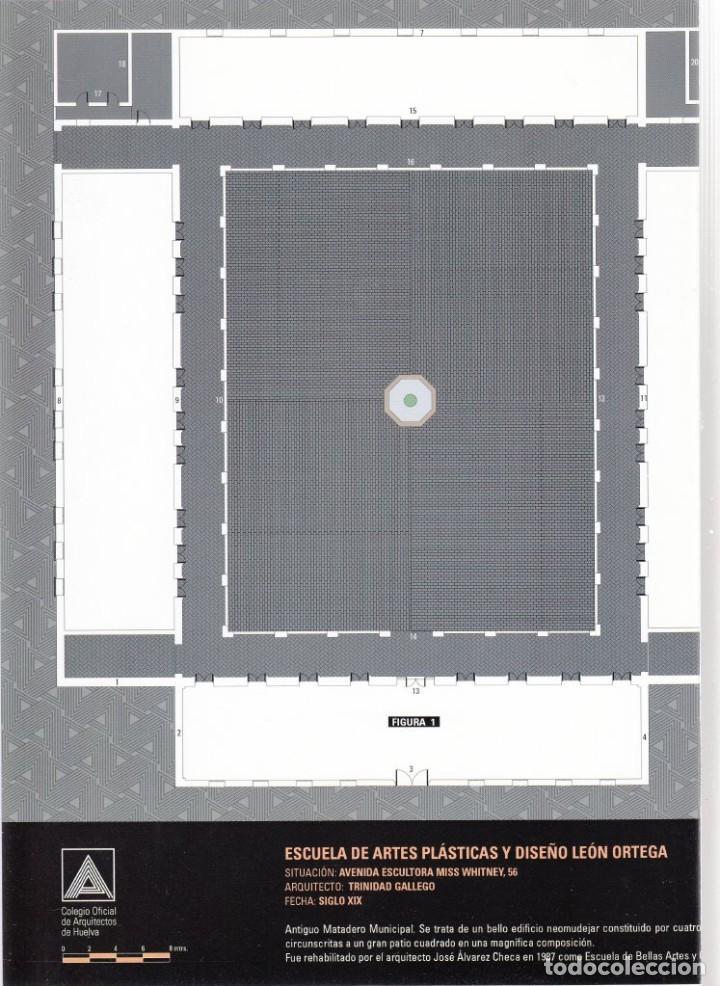 Coleccionismo Recortables: RECORTABLE. ESCUELA DE ARTES PLÁSTICAS Y DISEÑO LEÓN ORTEGA DE HUELVA. 2007. DÍA DE LA ARQUITECTURA - Foto 2 - 203992030