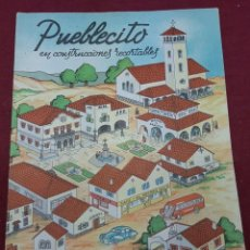 Coleccionismo Recortables: RECORTABLE EDICIONES LA TIJERA.... PUEBLECITO. Lote 204466378