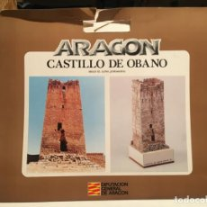 Coleccionismo Recortables: RECORTABLE CASTILLOS DE OBANO ZARAGOZA. Lote 205200566