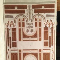 Coleccionismo Recortables: RECORTABLE ARC DE TRIOMF - BARCELONA - DESCATALOGADO. Lote 205858785