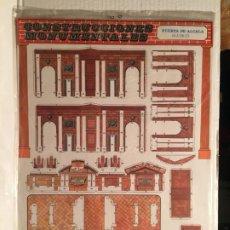 Coleccionismo Recortables: RECORTABLE PUERTA DE ALCALA MADRID - DESCATALOGADO. Lote 205859370