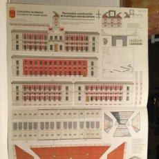 Coleccionismo Recortables: RECORTABLE ANTIGUA CASA DE CORREOS MADRID. Lote 205859838