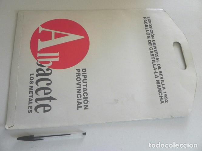 Coleccionismo Recortables: RECORTABLES DE ALBACETE PARA EXPO92 SEVILLA EXPOSICIÓN UNIVERSAL 1992 EXPO CASTILLO ALMANSA PALACIO - Foto 2 - 206419523