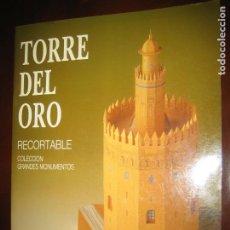 Coleccionismo Recortables: RECORTABLE TORRE DEL ORO. Lote 206939550