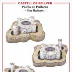 Coleccionismo Recortables: MAQUETA RECORTABLE DEL CASTELL DE BELLVER ( PALMA DE MALLORCA). Lote 206950883