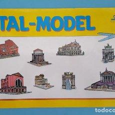 Coleccionismo Recortables: RECORTABLE ITAL-MODEL EDICIONES CON-BEL, COMPLETO 8 HOJAS NUEVO. Lote 207280597